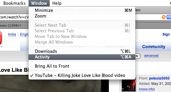 Save YouTube Video on macOS 10.14 Using Browsers